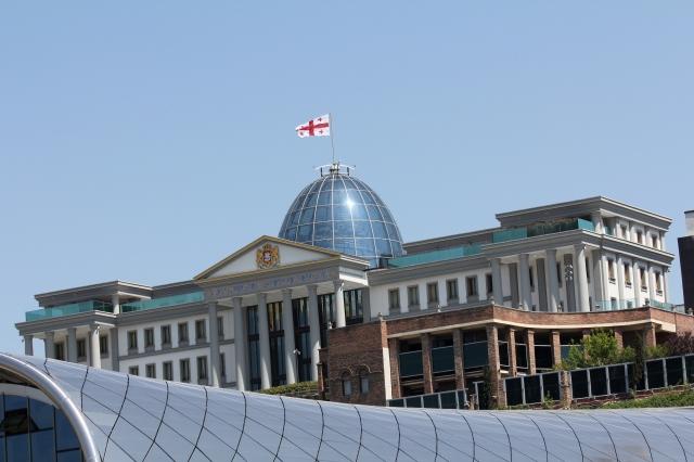 De Palais vum President Mikheil Saakachvili