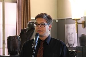 Frank Schroeder, chargé de direction du musée