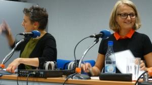 Mick Entringer (100,7) an Danièle Weber (rtl)